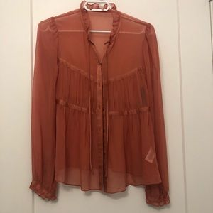 French Connection Silk Blouse